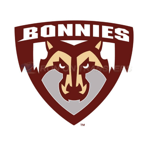 St. Bonaventure Bonnies Logo T-shirts Iron On Transfers N6320