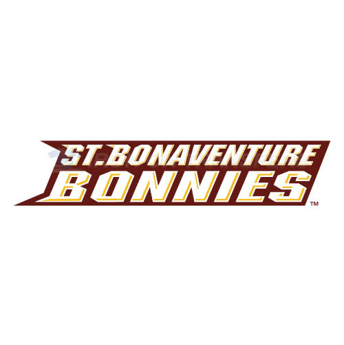 St. Bonaventure Bonnies Logo T-shirts Iron On Transfers N6322