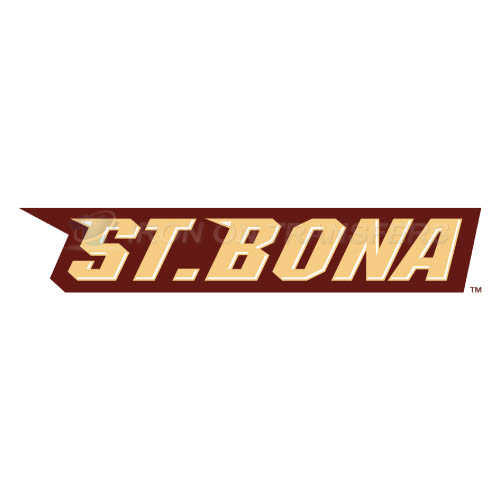 St. Bonaventure Bonnies Logo T-shirts Iron On Transfers N6323
