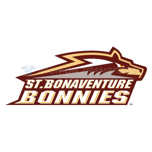 St. Bonaventure Bonnies Logo T-shirts Iron On Transfers N6324