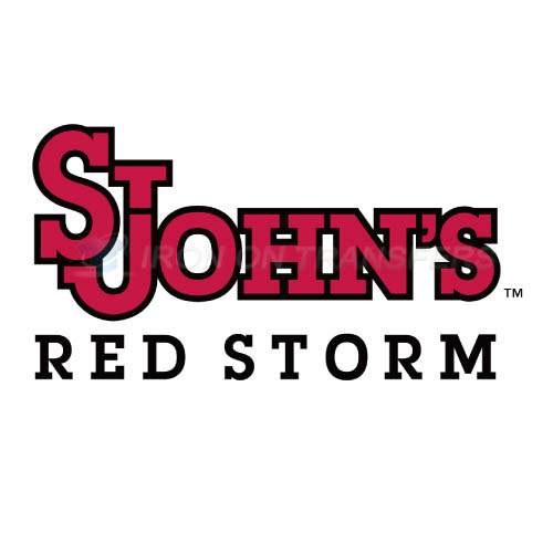 St. Johns Red Storm Logo T-shirts Iron On Transfers N6351