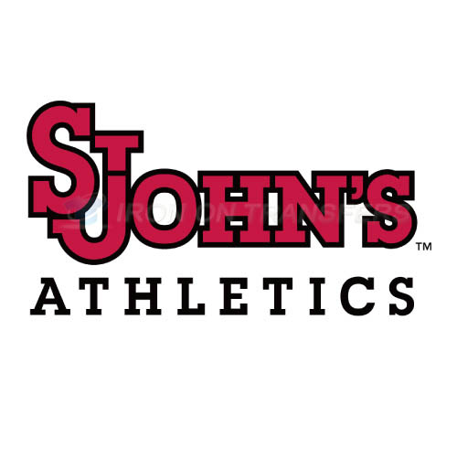 St. Johns Red Storm Logo T-shirts Iron On Transfers N6353
