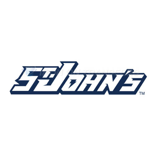St. Johns Red Storm Logo T-shirts Iron On Transfers N6354
