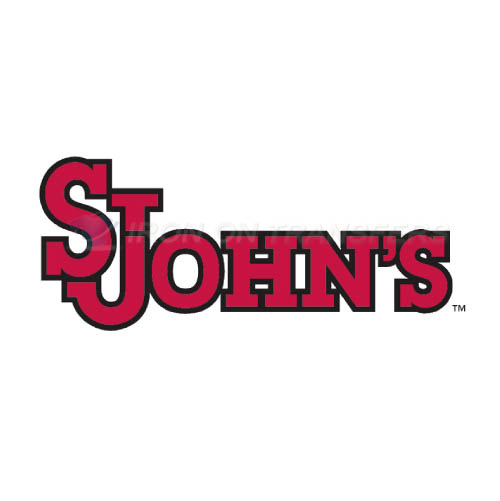 St. Johns Red Storm Logo T-shirts Iron On Transfers N6358