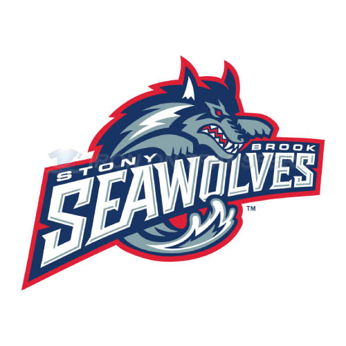 Stony Brook Seawolves Logo T-shirts Iron On Transfers N6398