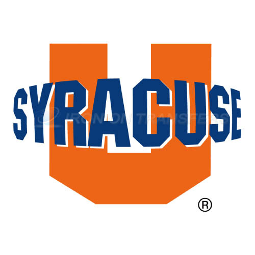 Syracuse Orange Logo T-shirts Iron On Transfers N6406