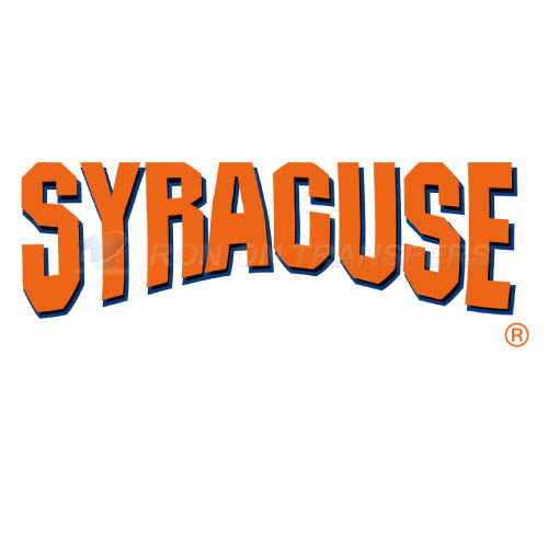Syracuse Orange Logo T-shirts Iron On Transfers N6407