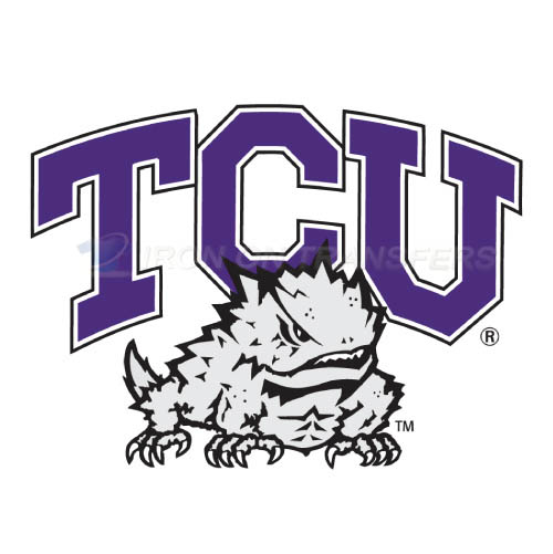 TCU Horned Frogs Logo T-shirts Iron On Transfers N6423