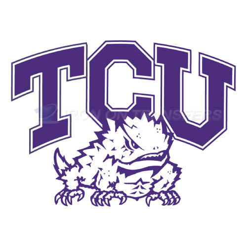 TCU Horned Frogs Logo T-shirts Iron On Transfers N6430