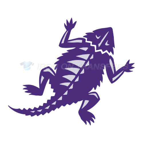 TCU Horned Frogs Logo T-shirts Iron On Transfers N6432
