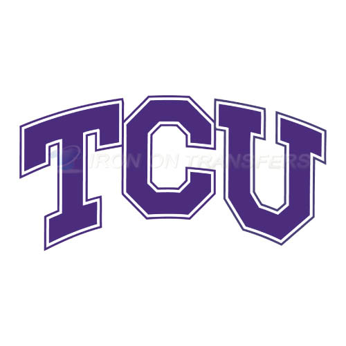 TCU Horned Frogs Logo T-shirts Iron On Transfers N6434