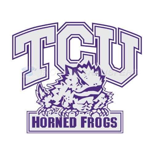 TCU Horned Frogs Logo T-shirts Iron On Transfers N6435