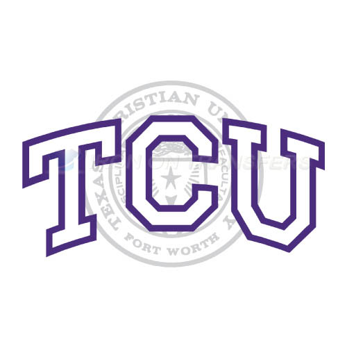 TCU Horned Frogs Logo T-shirts Iron On Transfers N6436