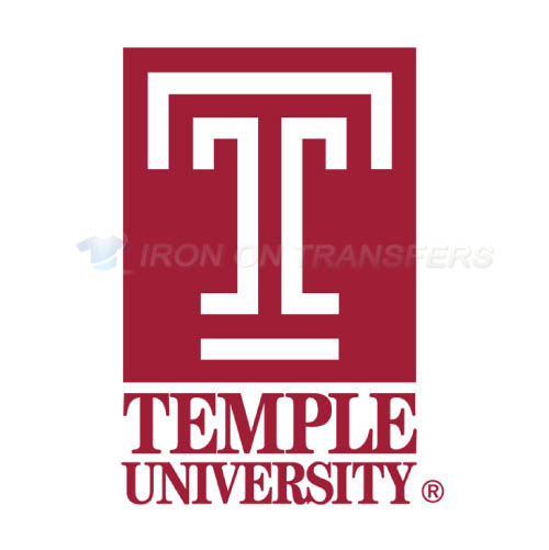 Temple Owls Logo T-shirts Iron On Transfers N6438