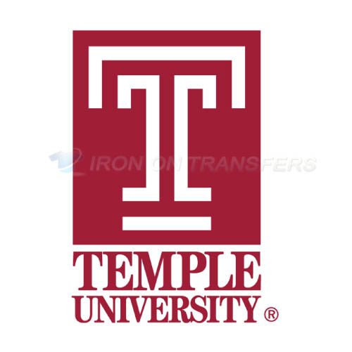 Temple Owls Logo T-shirts Iron On Transfers N6439
