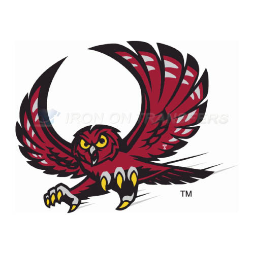 Temple Owls Logo T-shirts Iron On Transfers N6440