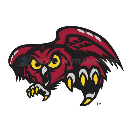 Temple Owls Logo T-shirts Iron On Transfers N6441
