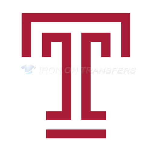 Temple Owls Logo T-shirts Iron On Transfers N6447