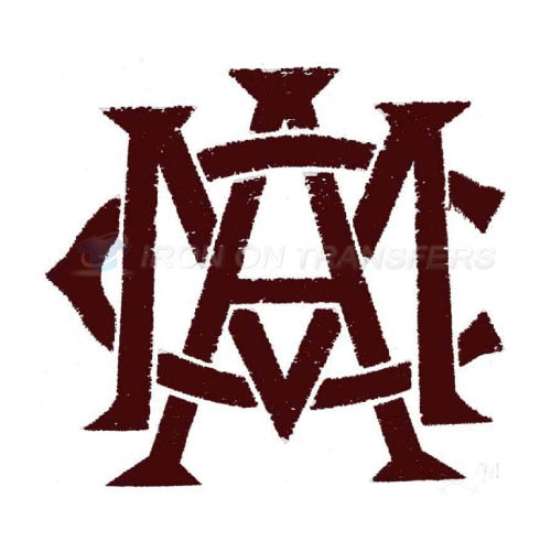 Texas A M Aggies Logo T-shirts Iron On Transfers N6494