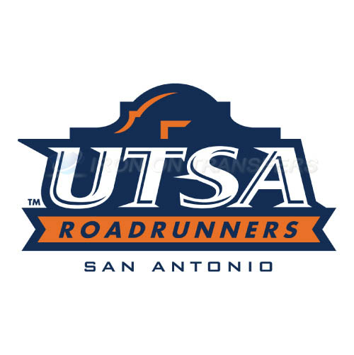 Texas SA Roadrunners Logo T-shirts Iron On Transfers N6529