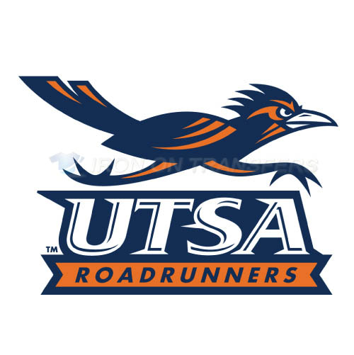 Texas SA Roadrunners Logo T-shirts Iron On Transfers N6534