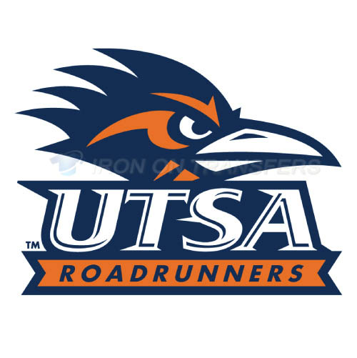 Texas SA Roadrunners Logo T-shirts Iron On Transfers N6546