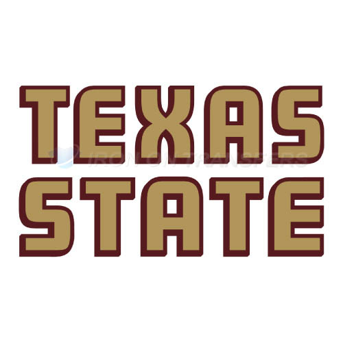 Texas State Bobcats Logo T-shirts Iron On Transfers N6553