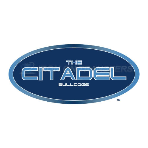 The Citadel Bulldogs Logo T-shirts Iron On Transfers N6565