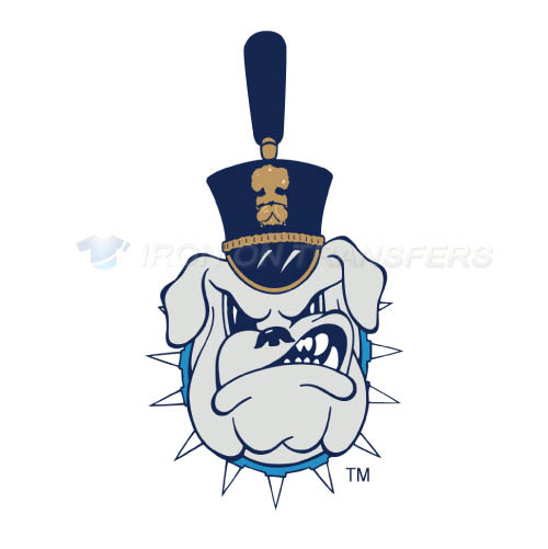 The Citadel Bulldogs Logo T-shirts Iron On Transfers N6568