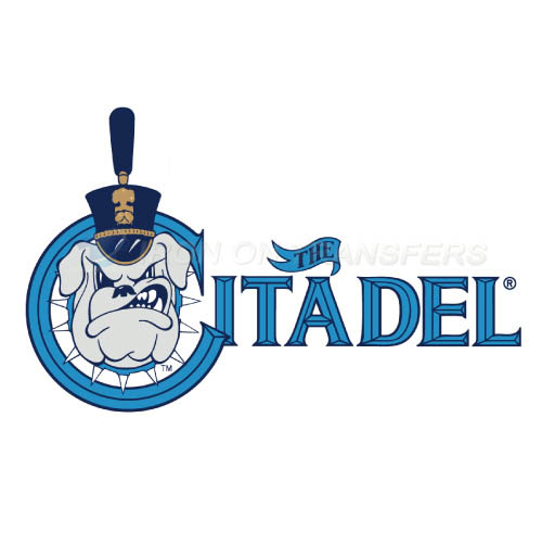 The Citadel Bulldogs Logo T-shirts Iron On Transfers N6570