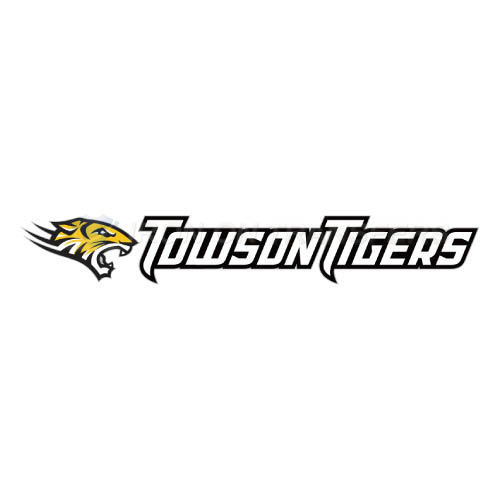 Towson Tigers Logo T-shirts Iron On Transfers N6576
