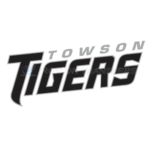 Towson Tigers Logo T-shirts Iron On Transfers N6577