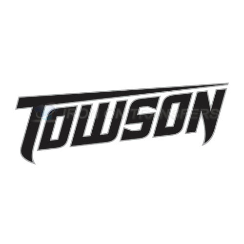 Towson Tigers Logo T-shirts Iron On Transfers N6579