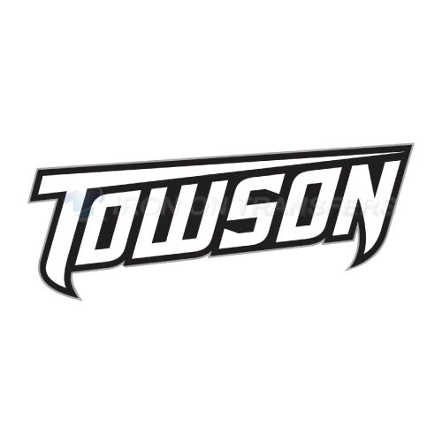 Towson Tigers Logo T-shirts Iron On Transfers N6581