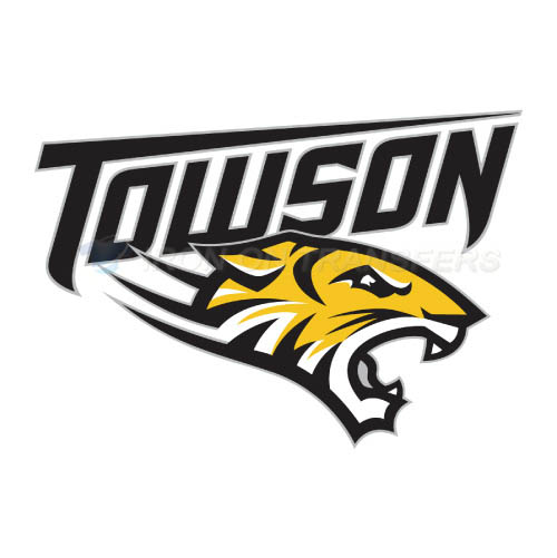 Towson Tigers Logo T-shirts Iron On Transfers N6582