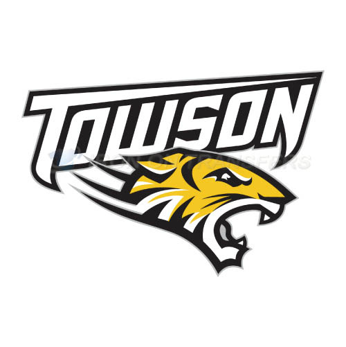 Towson Tigers Logo T-shirts Iron On Transfers N6583