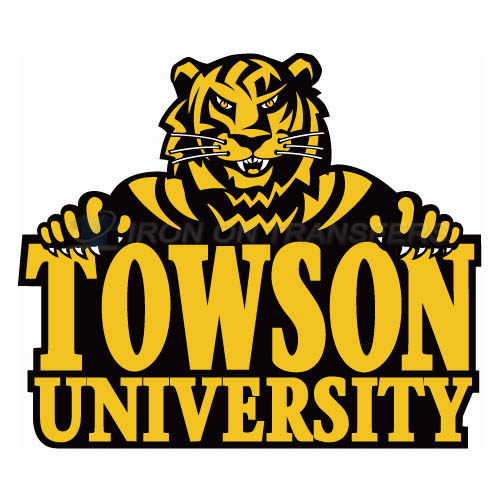 Towson Tigers Logo T-shirts Iron On Transfers N6585