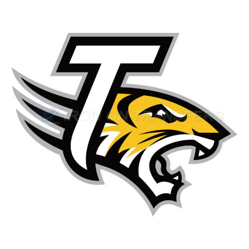Towson Tigers Logo T-shirts Iron On Transfers N6587