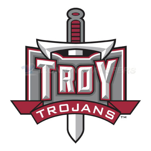 Troy Trojans Logo T-shirts Iron On Transfers N6591