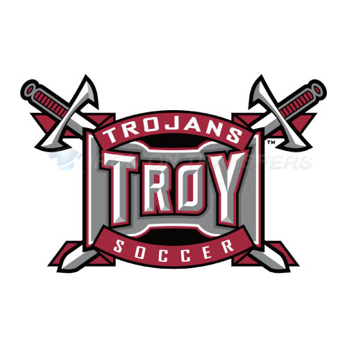 Troy Trojans Logo T-shirts Iron On Transfers N6592