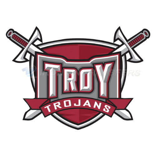 Troy Trojans Logo T-shirts Iron On Transfers N6597