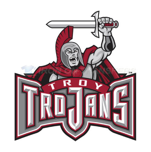 Troy Trojans Logo T-shirts Iron On Transfers N6598