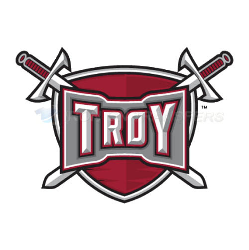 Troy Trojans Logo T-shirts Iron On Transfers N6599