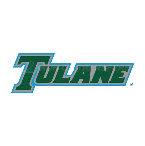 Tulane Green Wave Logo T-shirts Iron On Transfers N6604