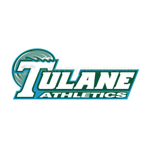 Tulane Green Wave Logo T-shirts Iron On Transfers N6606