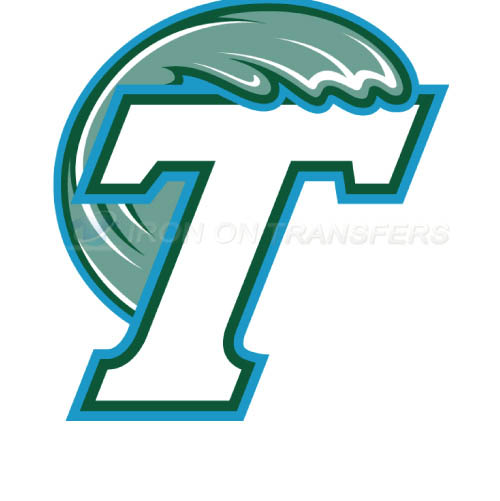 Tulane Green Wave Logo T-shirts Iron On Transfers N6608