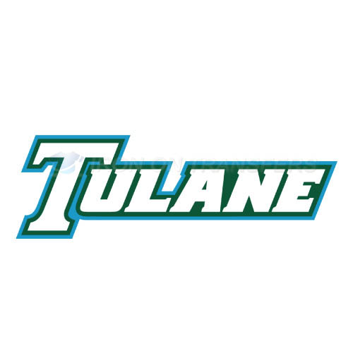 Tulane Green Wave Logo T-shirts Iron On Transfers N6609
