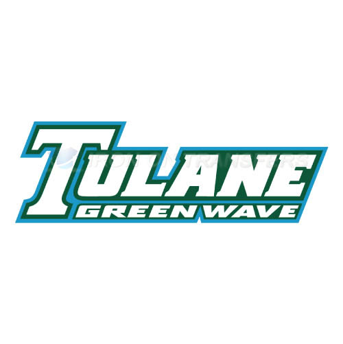 Tulane Green Wave Logo T-shirts Iron On Transfers N6610
