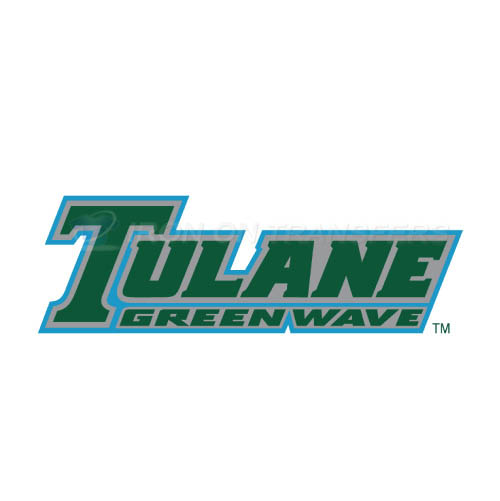 Tulane Green Wave Logo T-shirts Iron On Transfers N6611
