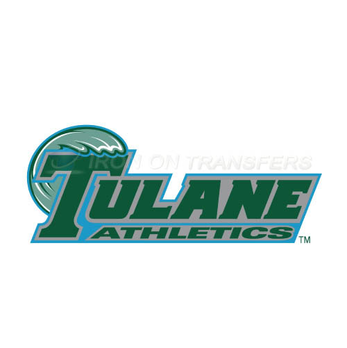 Tulane Green Wave Logo T-shirts Iron On Transfers N6612